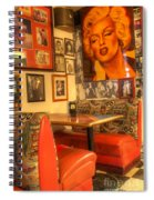 Kicking On Route 66 Spiral Notebook