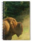 Kicking Up Dust Spiral Notebook