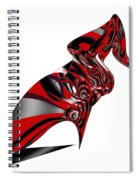 Kicky Heels By Jammer Spiral Notebook