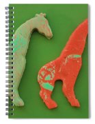 Kids At Play Spiral Notebook