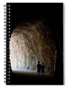 Kids In The Dark Spiral Notebook