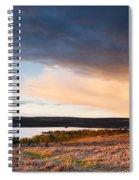 Kielder At Sunset Spiral Notebook