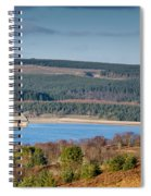 Kielder Dam And Valve Tower Spiral Notebook