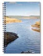 Kielder Water Inlet Spiral Notebook