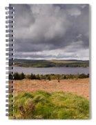 Kielder Water Panorama Spiral Notebook