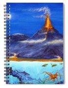Kilauea Volcano Hawaii Spiral Notebook