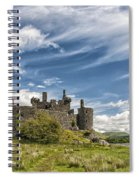Kilchurn Castle 01 Spiral Notebook