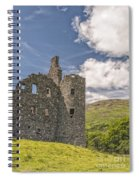 Kilchurn Castle 03 Spiral Notebook