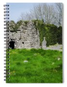 Kilmore Church Ruins - Founded By St Patrick - Ballina Co Mayo Spiral Notebook