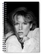 Kim Basinger Spiral Notebook