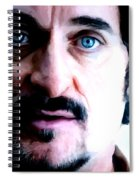 Kim Coates Large Size Portrait Spiral Notebook