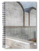 Kimbell Art Museum Fort Worth 3 Spiral Notebook