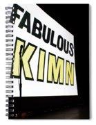 Kimn Radio Denver Colorado Spiral Notebook
