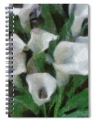 Kim's Flowers Spiral Notebook