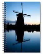 Kinderdijk Dawn Spiral Notebook