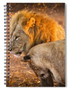 King And Queen Spiral Notebook