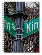 King And Queen Street Spiral Notebook