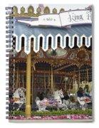 King Arthur Carrousel Fantasyland Disneyland Spiral Notebook