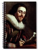 King Charles I Of England (1600-1649) Spiral Notebook