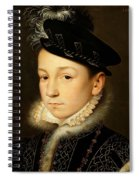 King Charles Ix Of France Spiral Notebook
