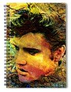 King Elvis Spiral Notebook