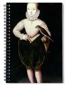 King James I Of England Spiral Notebook