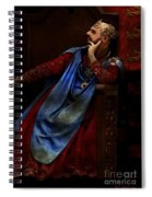 King John Ponders The Magna Carta Spiral Notebook
