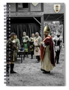 King Macbeth Of Scotland With The Bishop Spiral Notebook