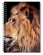 King Of Beast Spiral Notebook