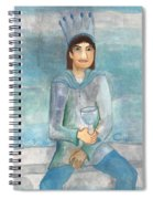 King Of Cups Spiral Notebook