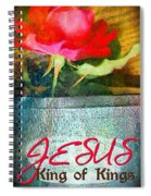 King Of Kings Spiral Notebook