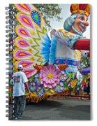 King Of The Butterflies Spiral Notebook