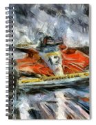 King Of The Rain Spiral Notebook