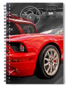 King Of The Road Spiral Notebook