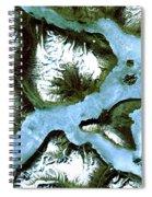 King Oscar Fjord Greenland Spiral Notebook