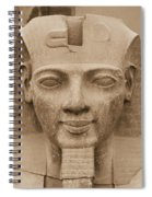 King Ramses II  Spiral Notebook