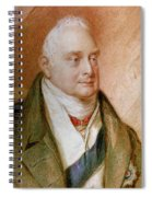 King William Iv Of England (1765-1837) Spiral Notebook