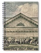 Kings And Kingdoms Spiral Notebook