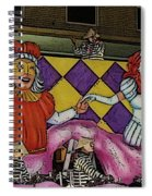Kings And Queens Spiral Notebook