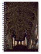King's College Chapel Spiral Notebook
