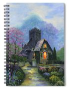 King's Garden Spiral Notebook