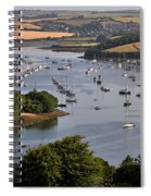 Kingsbridge Estuary Devon Spiral Notebook