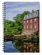 Kingston Mill Near Princeton New Jersey Spiral Notebook