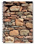 Kinishba Masonry Spiral Notebook