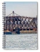 Kinnickinnic River Swing Bridge Spiral Notebook