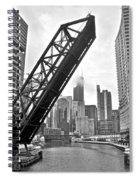 Kinzie Street Bridge Spiral Notebook