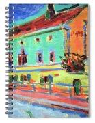 Kirchner's Houses In Dresden Spiral Notebook