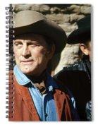 Kirk Douglas Johnny Cash A Gunfight  Old Tucson Arizona 1971 Spiral Notebook