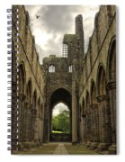 Kirkstall Abbey Spiral Notebook