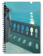 Kiss By Moonlight Spiral Notebook